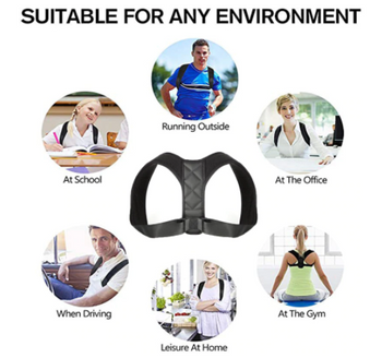 Health Posture Corrector Back Shoulder Support Spine Brace