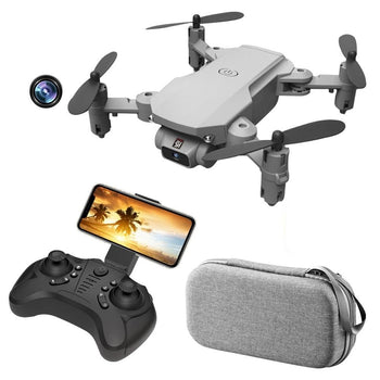 Sky Divers Foldable 4K HD or 1080P Camera Drone with Joystick, WiFi, USB Charge or Battery