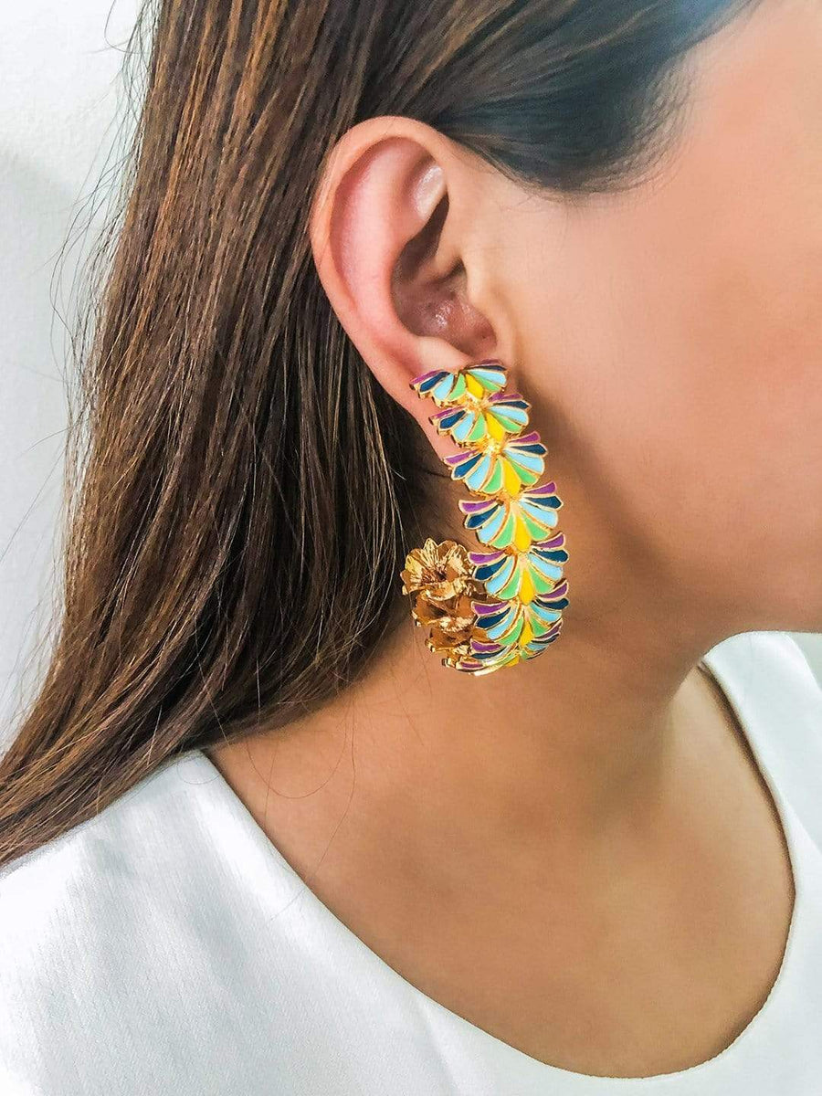 Afaaf Hoops - Earrings