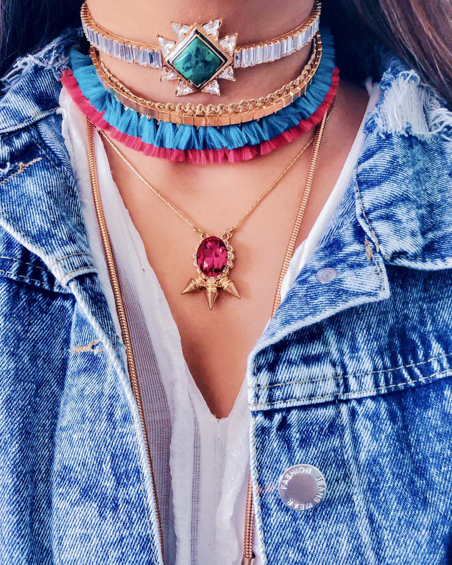 Ice Cream Pendant - Necklace