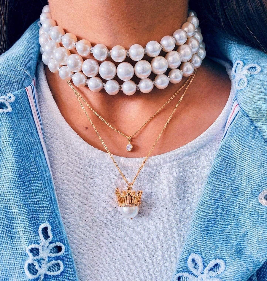 Pearly Isis - Necklace