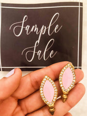Pink South Petals Earrings - Earrings