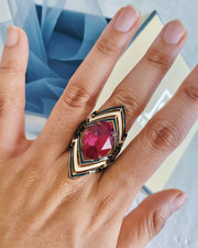 Red Medusa Ring - Ring