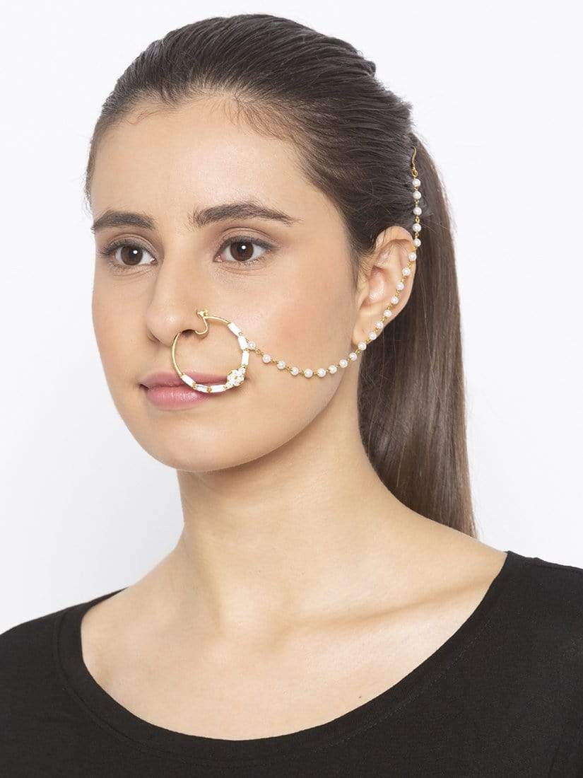 Ziva Pearl - Nose Ring