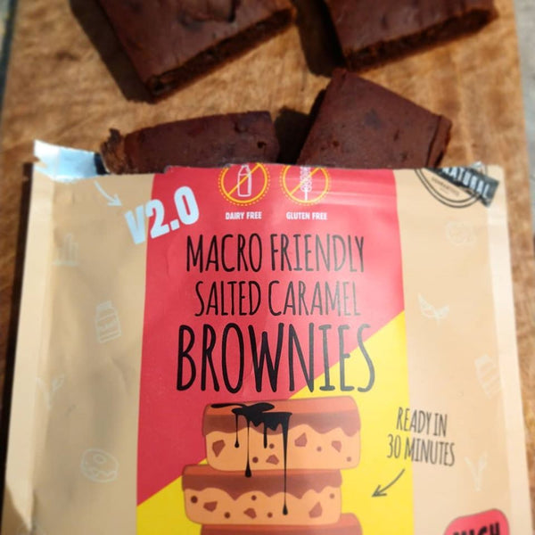 Macro Mike Salted Caramel Brownies Review