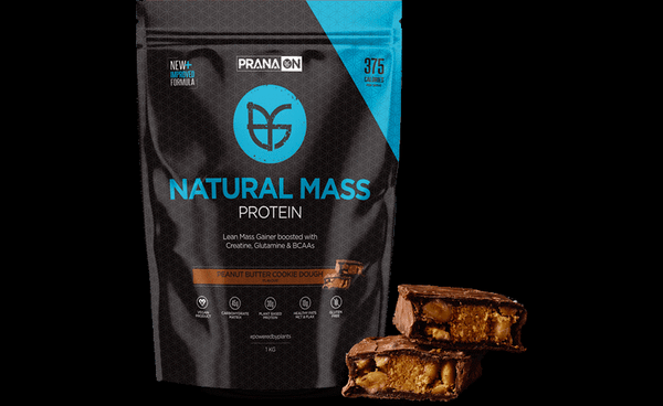 PranaOn Natural Mass Peanut Butter Cookie Dough REVIEW