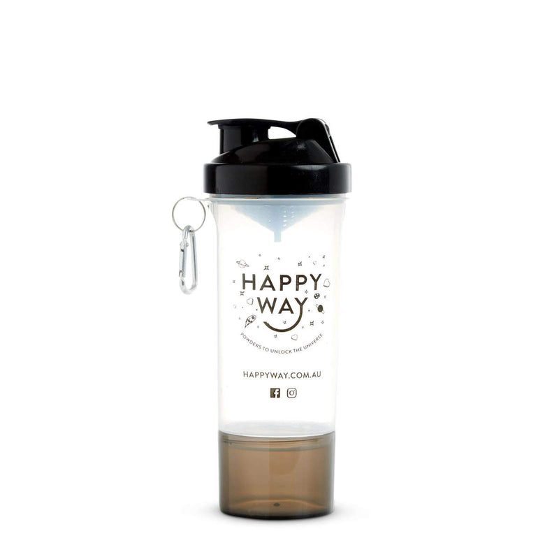 Happy Way Shaker - Black 400ml