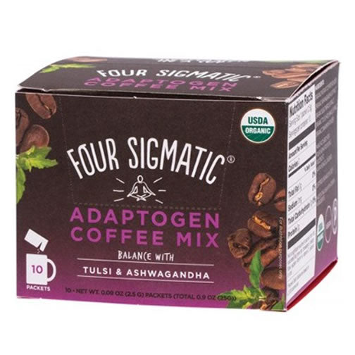 Adaptogen Coffee Mix Packets With Tulsi & Ashwagandha 10x2.5g