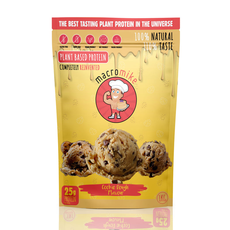 Cookie Dough Protein Powder 520g/1kg by Macro Mike