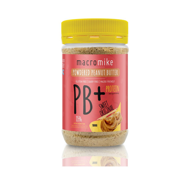 Original PB+ Powdered Peanut Butter by Macro Mike