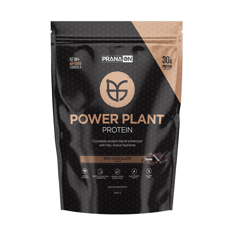 Power Plant Protein - Rich Chocolate 400g/1kg/3kg by PranaOn