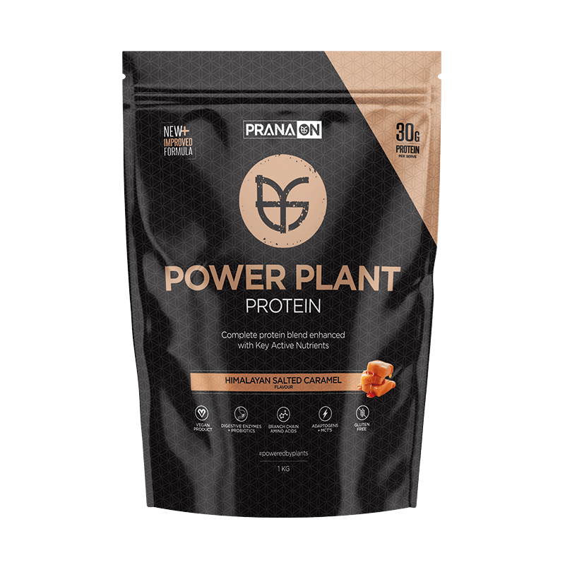 Power Plant Protein - Himalayan Salted Caramel 400g/1kg/3kg by PranaOn