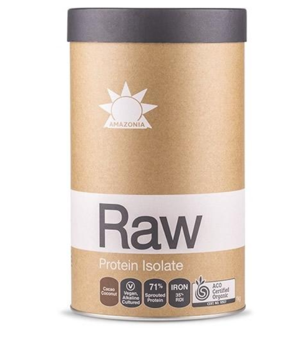 Raw Protein Isolate Natural 500g by Amazonia