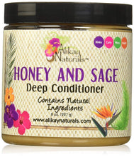 Cargar imagen en el visor de la galería, Alikay Naturals Honey and Sage Deep Conditioner - 8oz - Beauty & Organic Co.