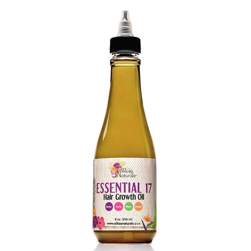 Alikay Naturals Essential 17 Hair Growth Oil - 8oz - Beauty & Organic Co.