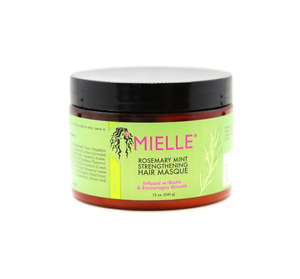 Mielle Rosemary Mint Strengthening Hair Masque - 12oz - Beauty & Organic Co.