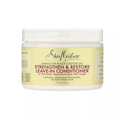 SheaMoisture Jamaican Black Castor Oil Strengthen & Restore Leave-In Conditioner - 11oz - Beauty & Organic Co.