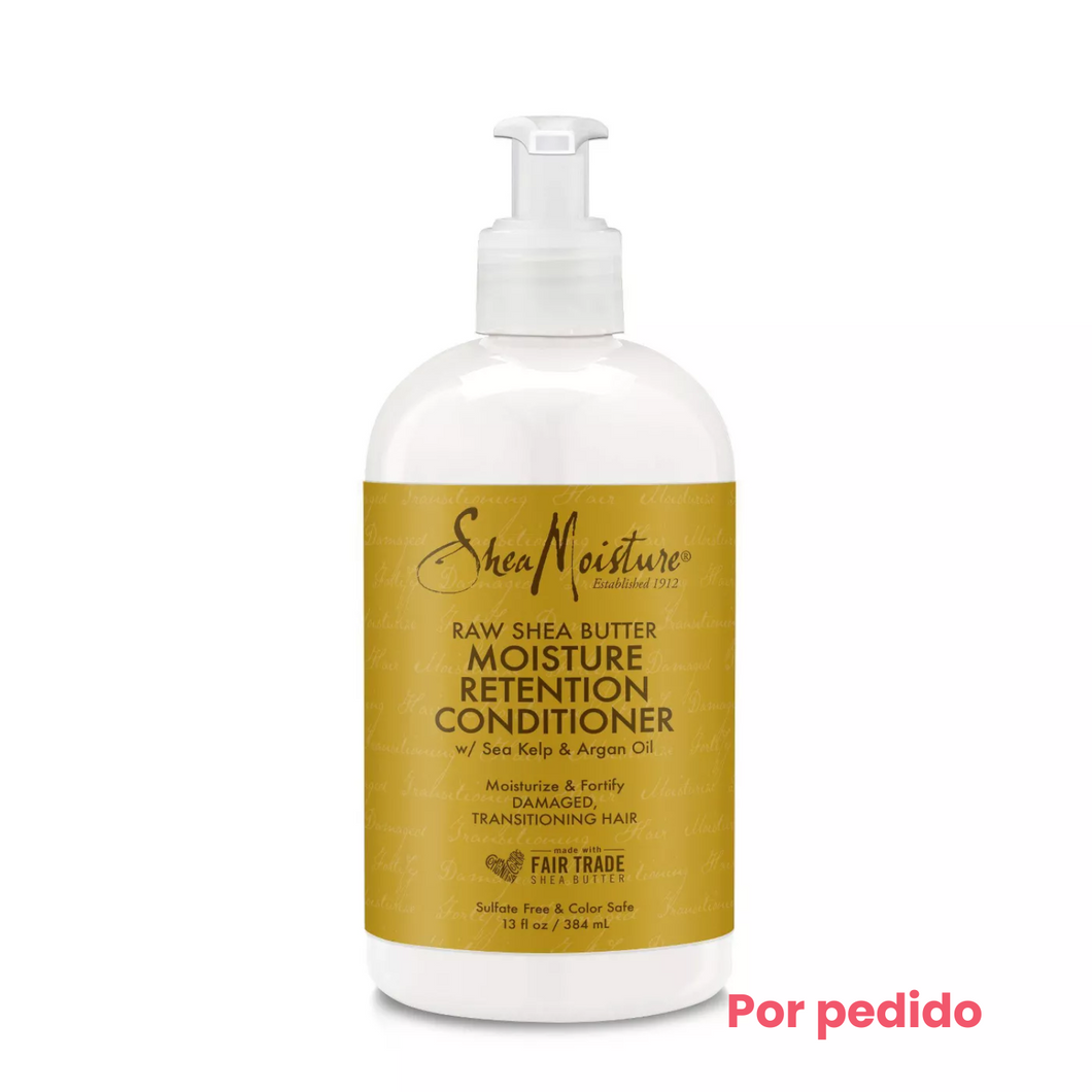 SheaMoisture Raw Shea Butter Moisture Retention Acondicionador- 13 fl oz - Beauty & Organic Co.