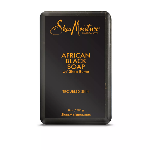 SheaMoisture African Black Soap Jabón en barra - 8oz - Beauty & Organic Co.