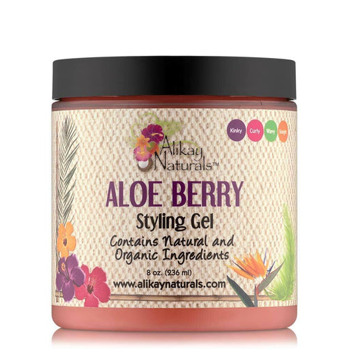 Alikay Naturals Aloe Berry Styling Gel - 8oz - Beauty & Organic Co.