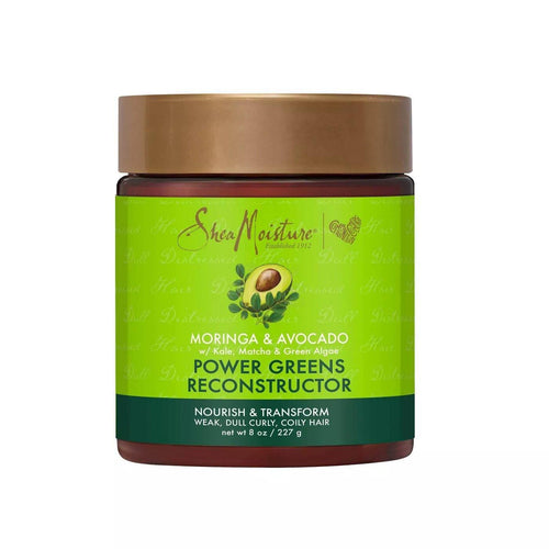 Shea Moisture Power Greens Moringa & Avocado Tratamiento - 8oz - Beauty & Organic Co.