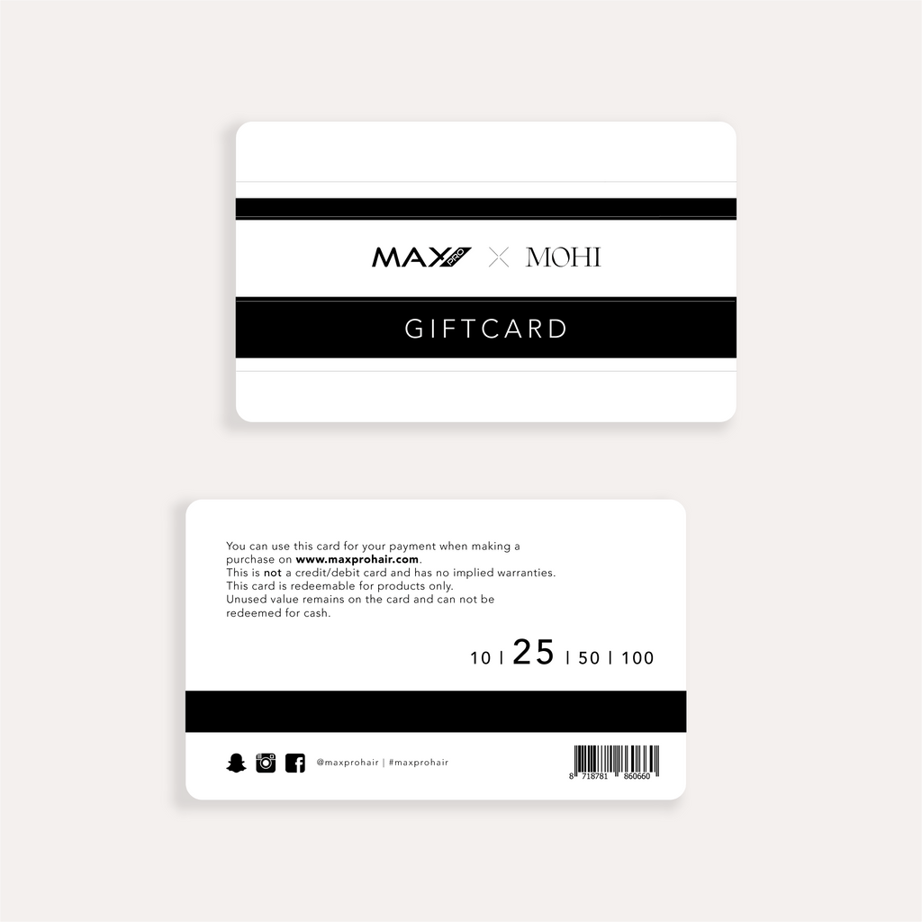 Max Pro x MOHI Gift Card - Max Pro x MOHI
