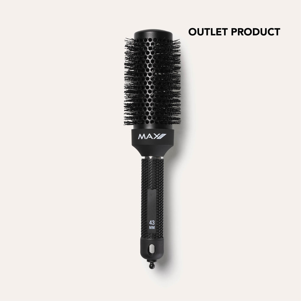 OUTLET Max Pro Ceramic blow-dry Styling Brush 43mm - Max Pro x MOHI