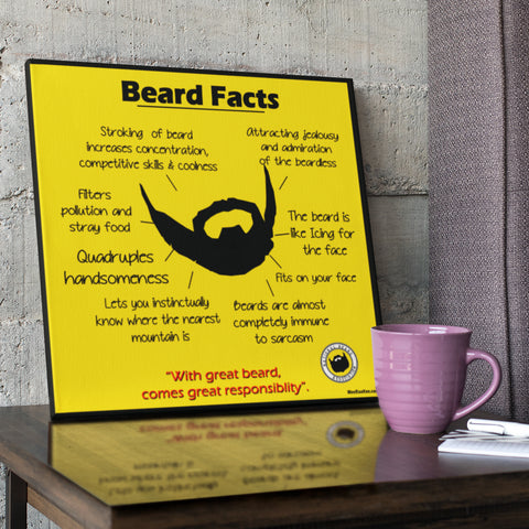 Beard Canvas Frame