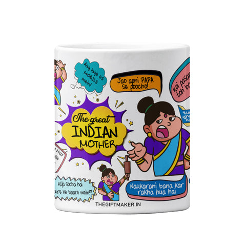 The Great Indian Mom Mug