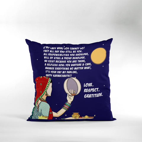 Karwachauth Cushion