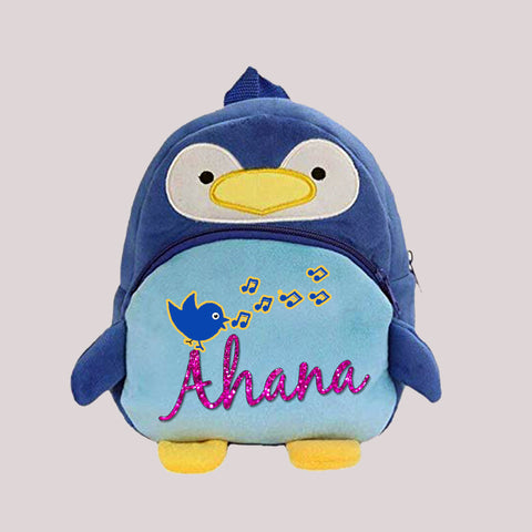 Blue Penguin Back Pack