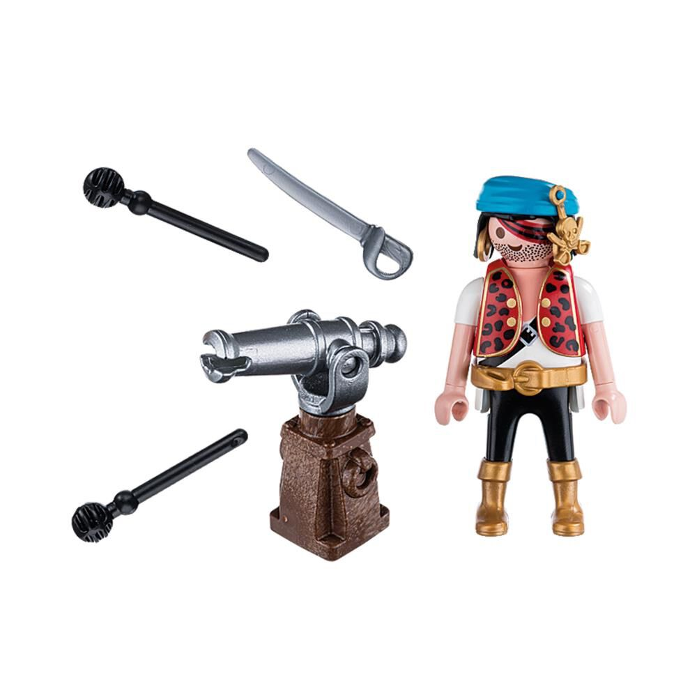 Playmobil Pirate with Cannon Figure Set