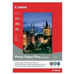 Canon SG-201 Photo Paper Plus Semi-gloss - 260gsm, A3+, 20 Sheets