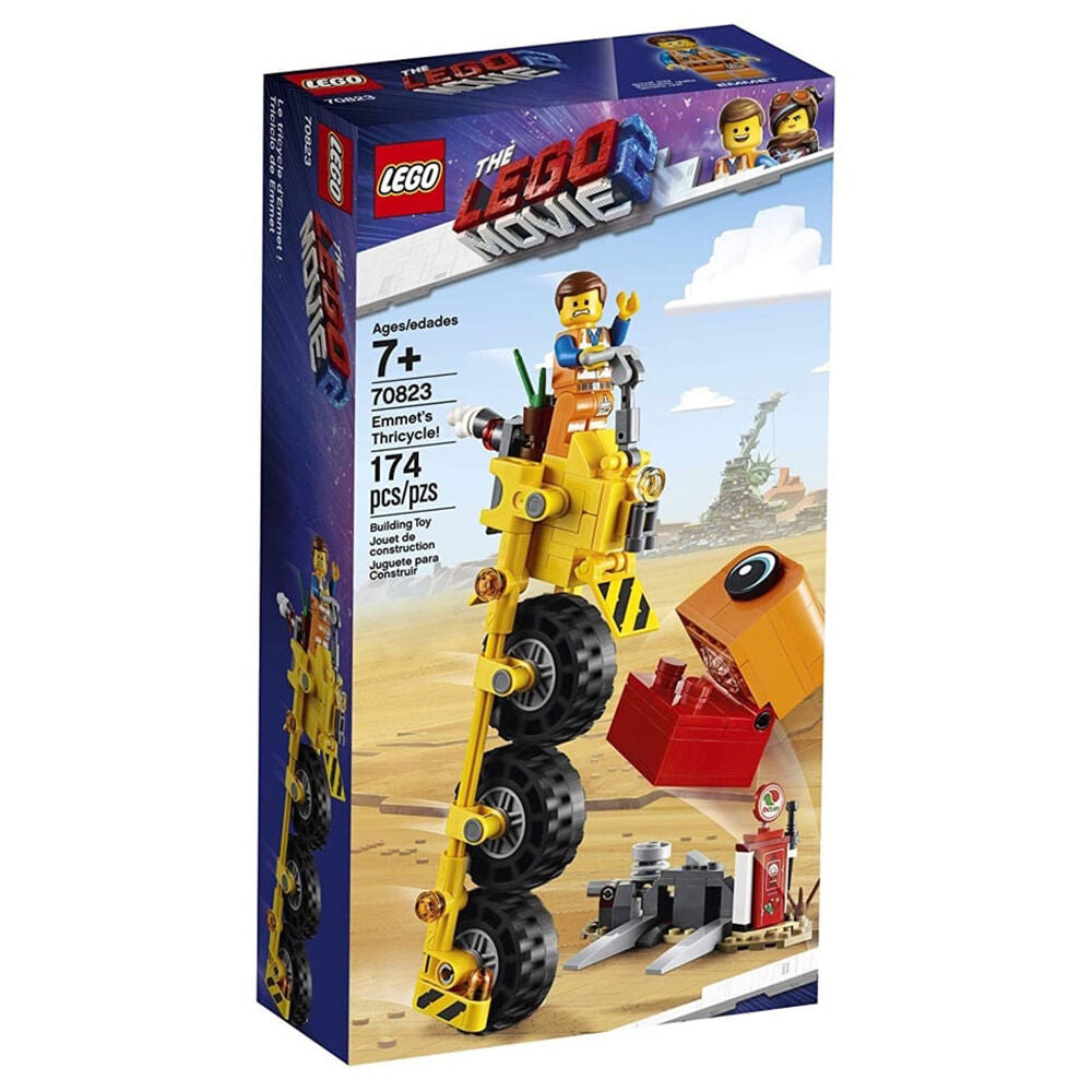The LEGO Movie 2: Emmet's Thricycle! (174 Pieces)