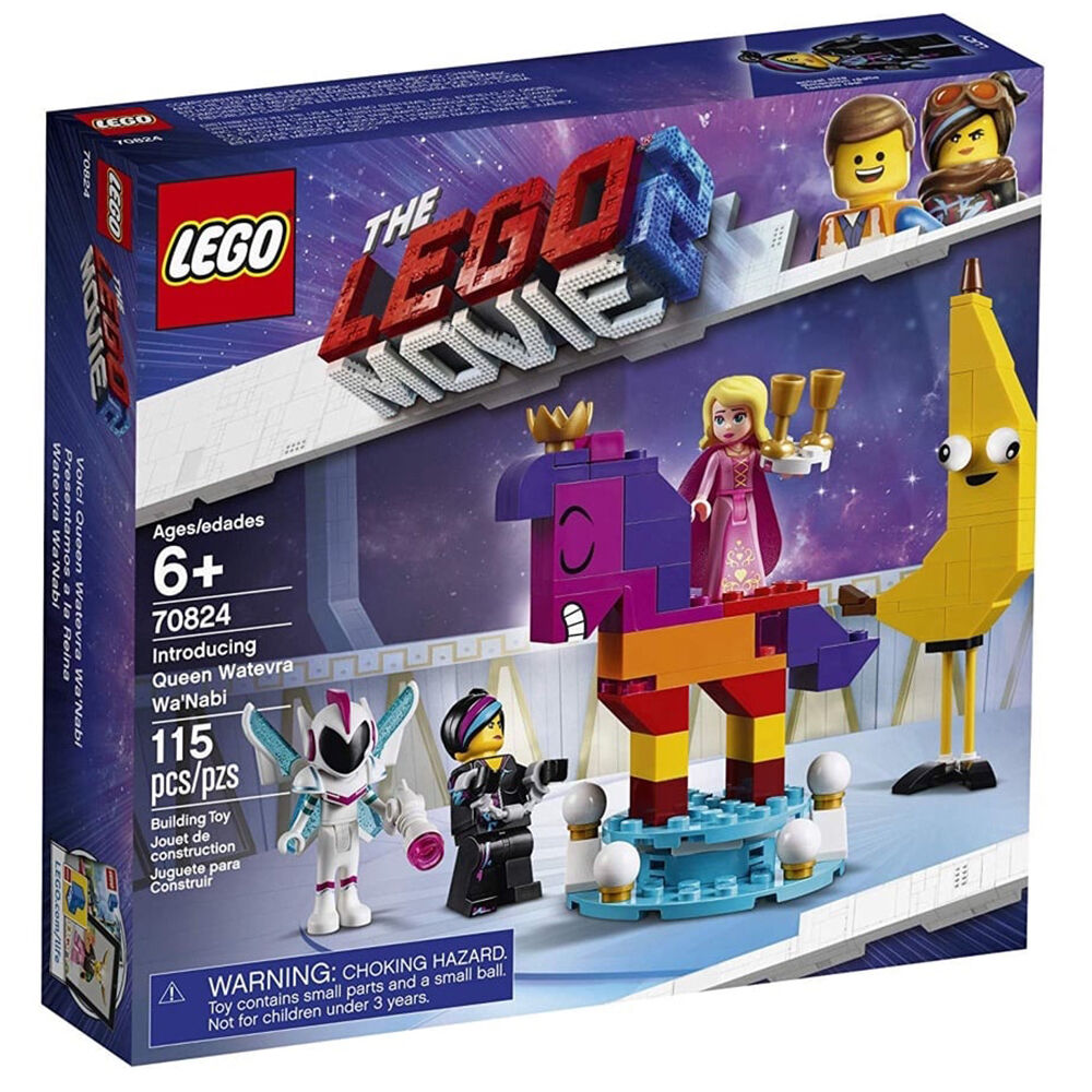 The LEGO Movie 2: Introducing Queen Watevra Wa'Nabi (115 Pieces)