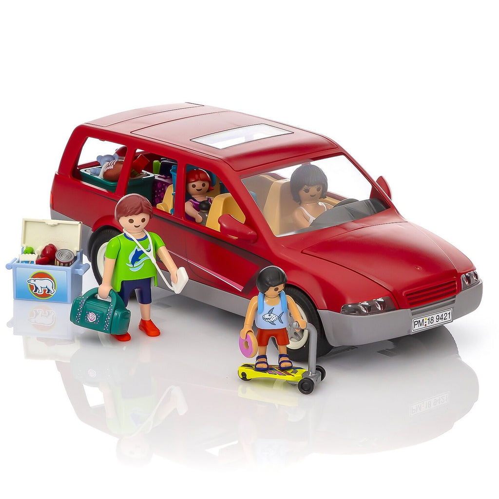 Playmobil Family Fun Car with Trailer Hitch Set
