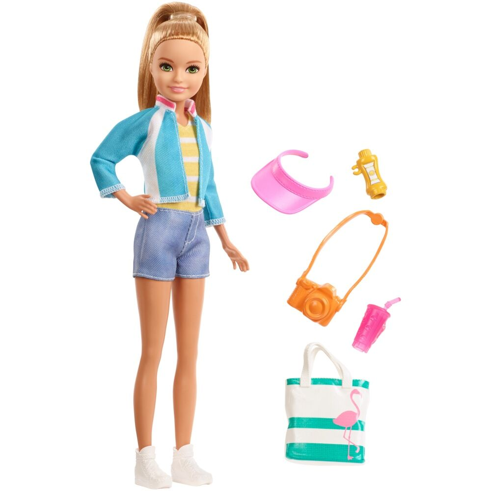 Barbie Travel Stacie Doll and Accessories