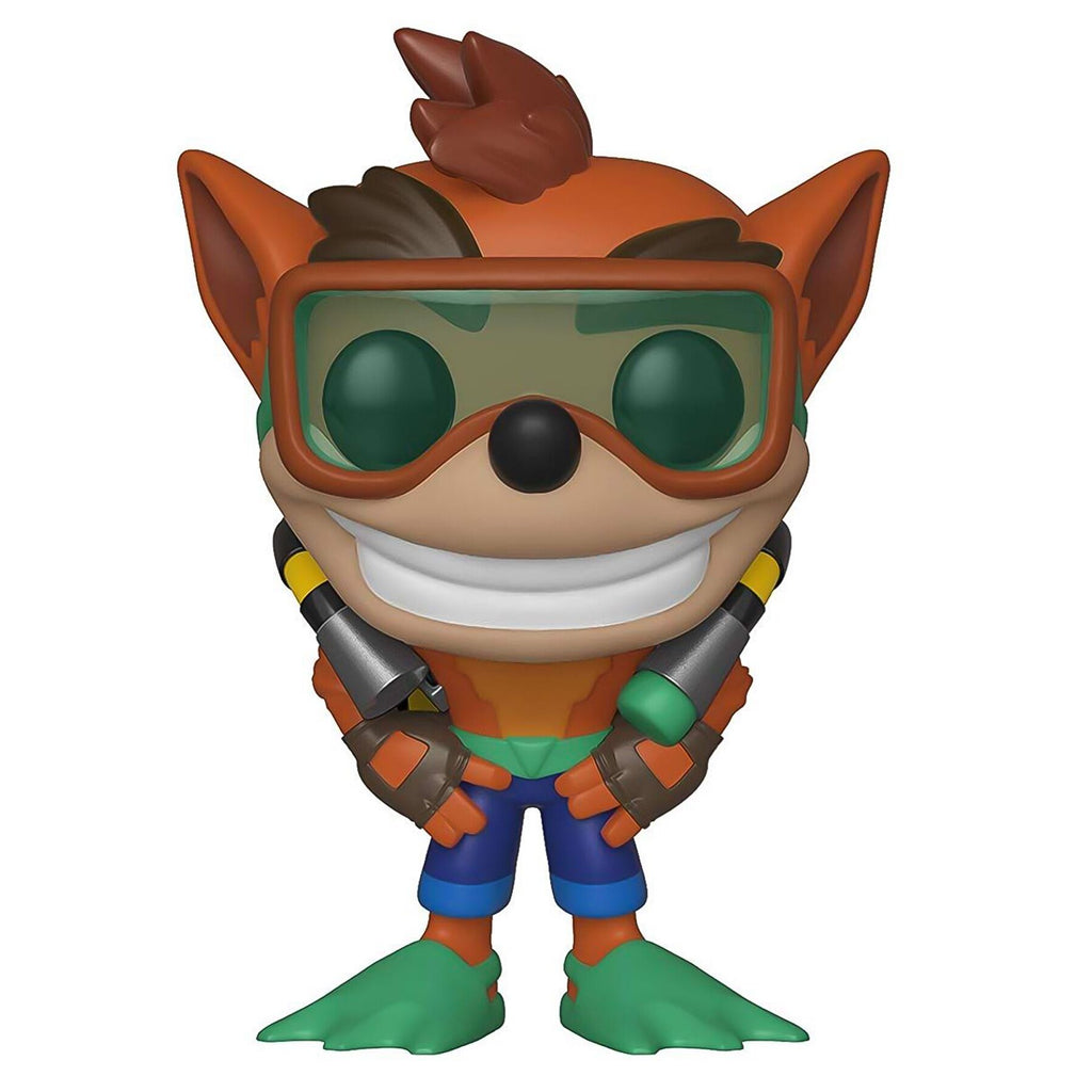 Pop Games Crash Bandicoot with Scuba Gear Vinyl Figure