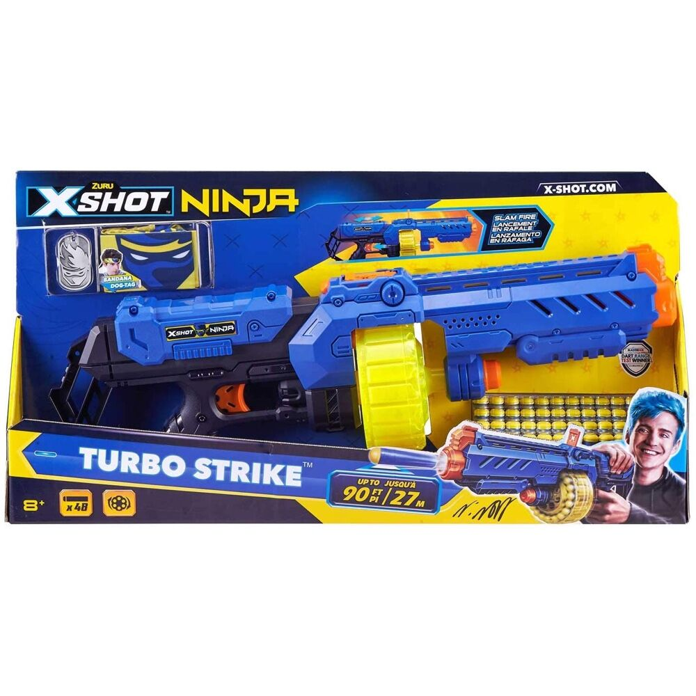 X-Shot Ninja Turbo Strike Limited Edition Blaster