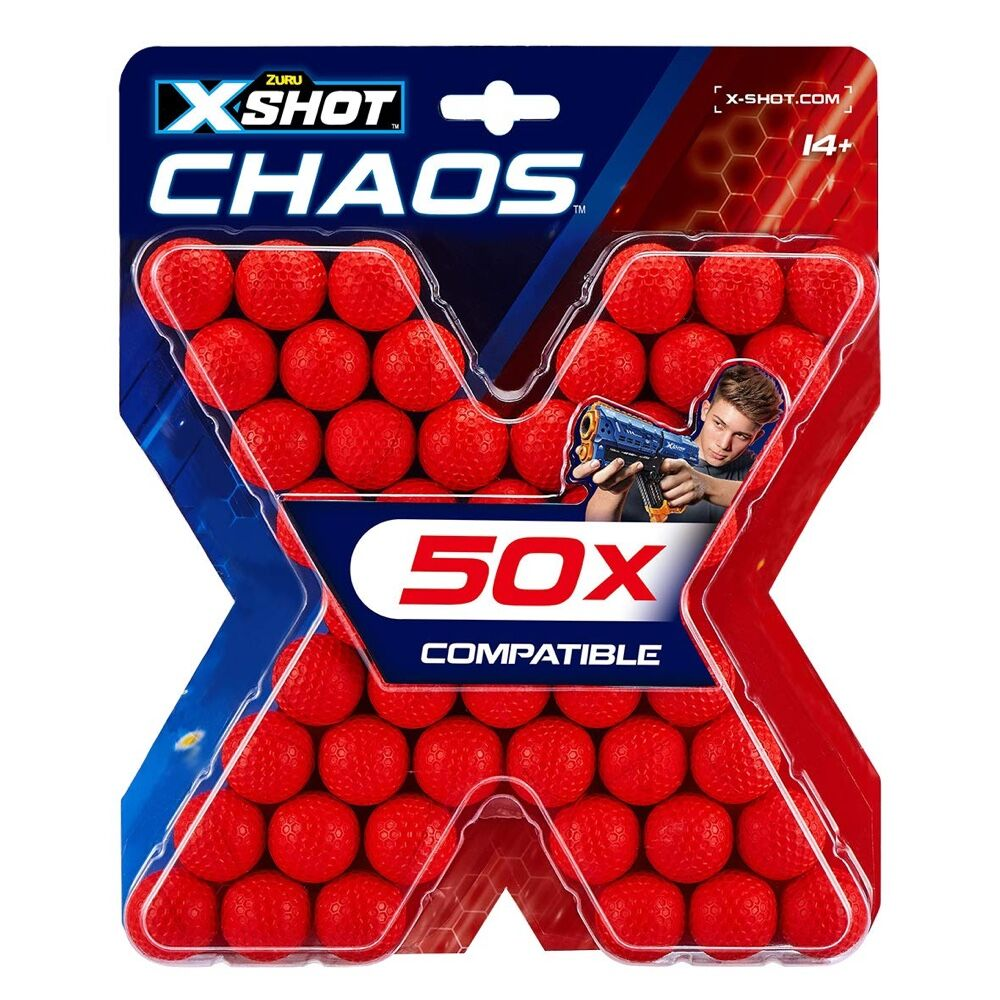X-Shot Chaos Refill (Pack of 50)