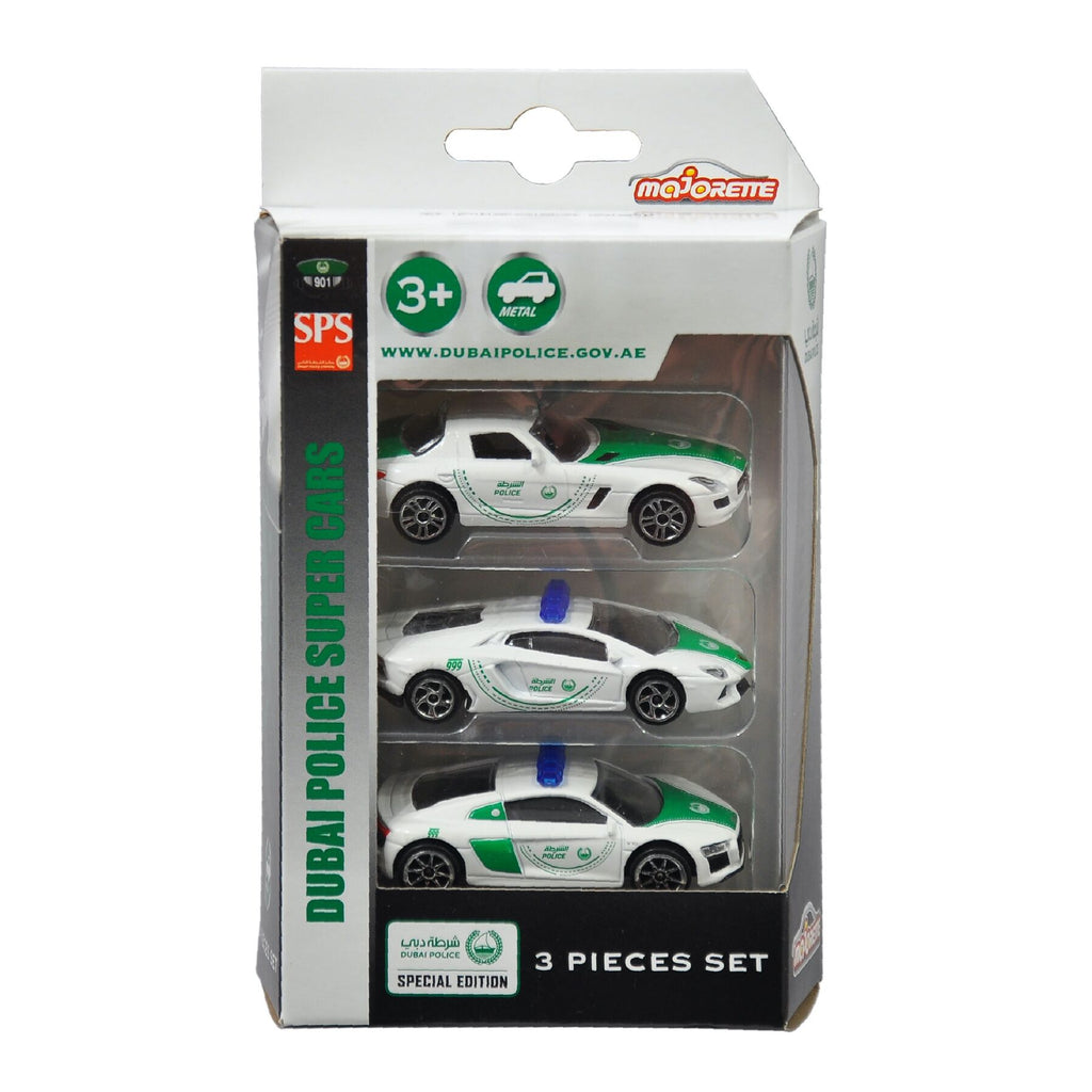 Dubai Police Super Car (3 Pack, Styles May Vary)