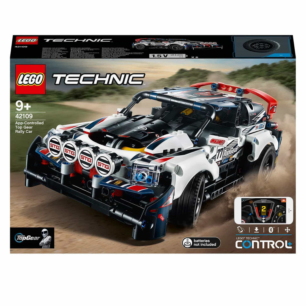 LEGO Technic App-Controlled top Gear Rally Car (463 Pieces)
