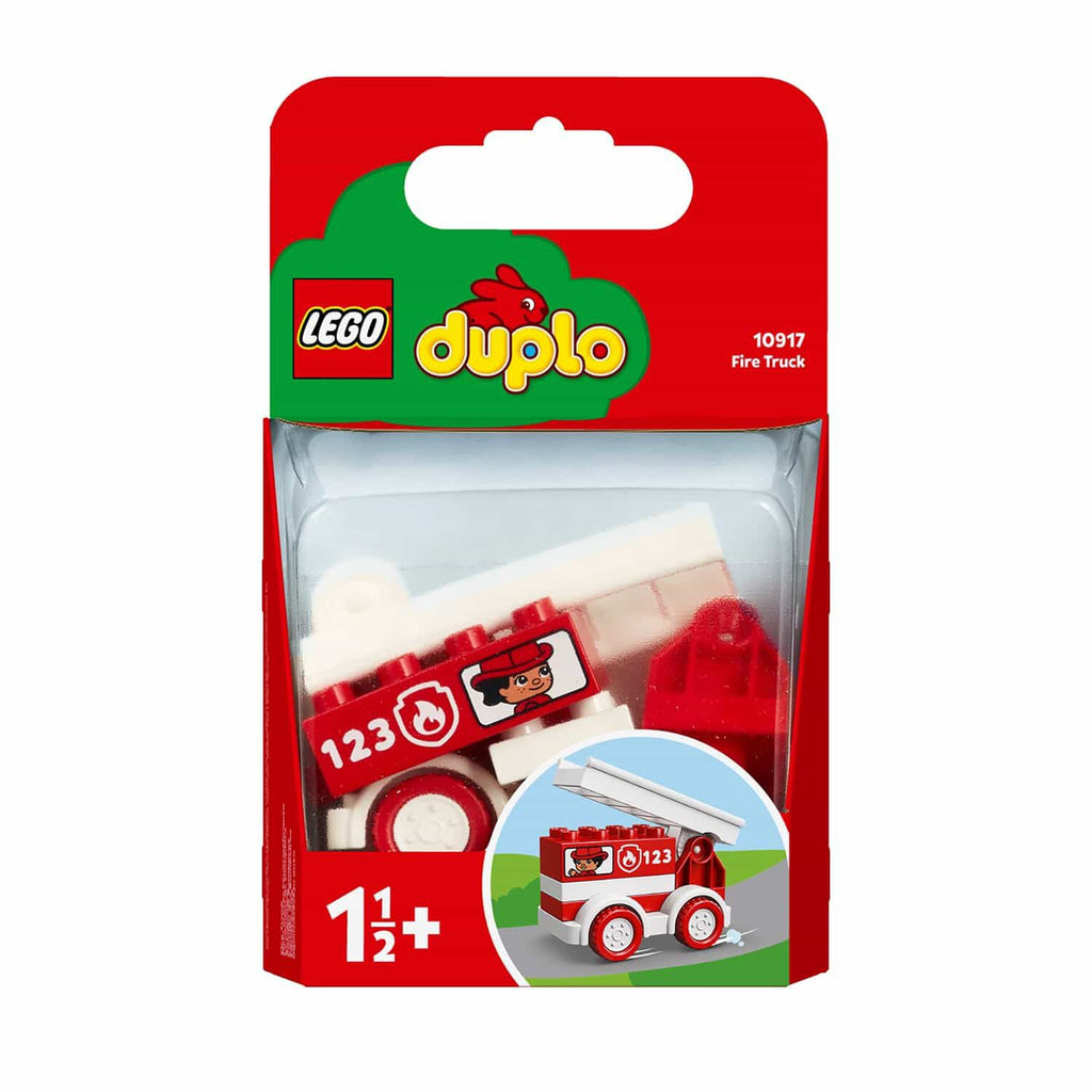 LEGO DUPLO My First Fire Truck Toy (6 Pieces)