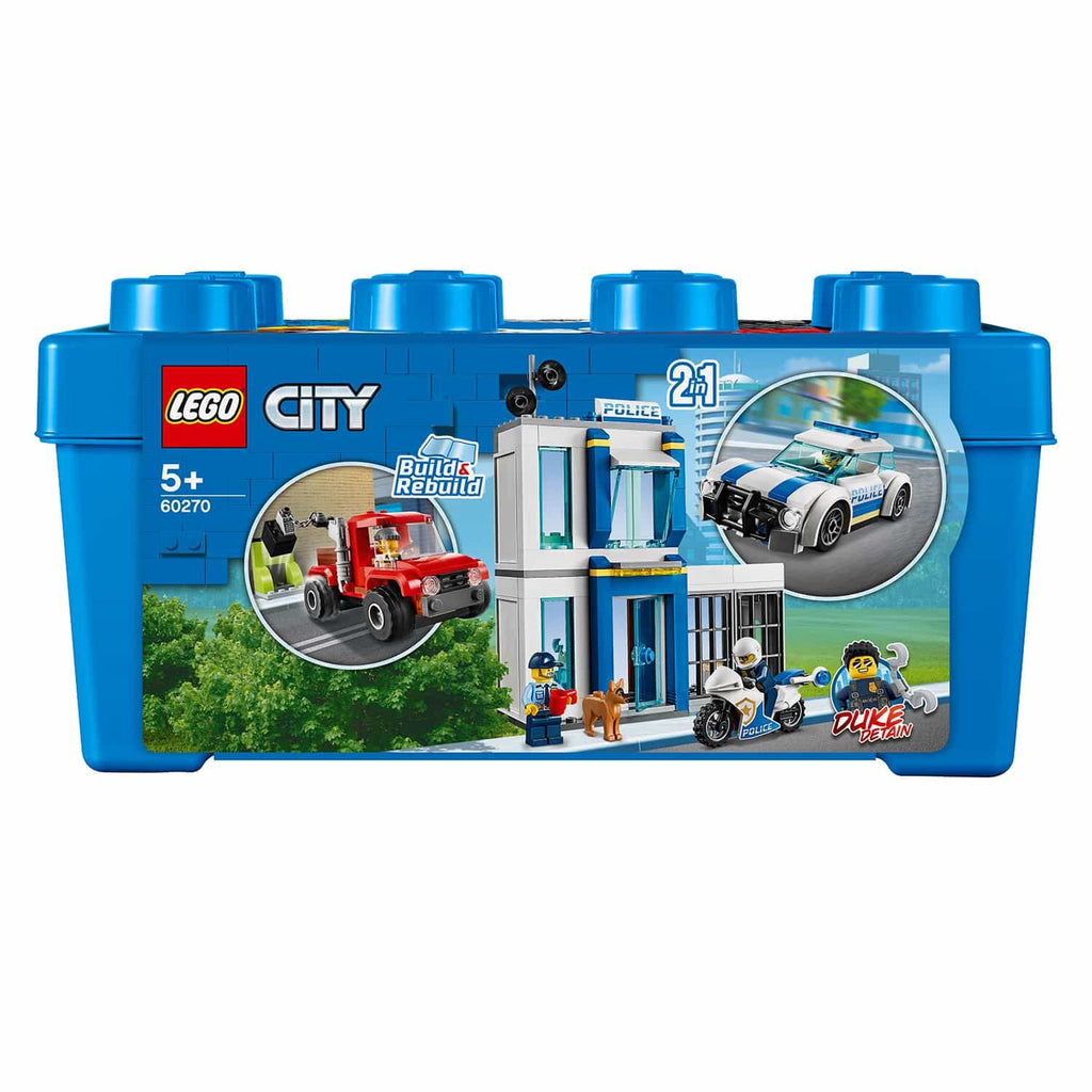 LEGO City Police Blue Brick Box 2in1 Building Set (301 Pieces)