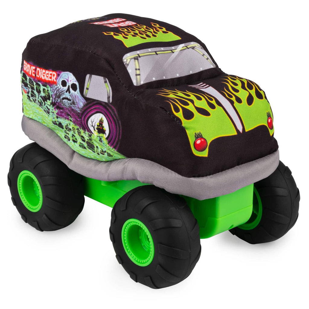 Monster Jam Plush RC Grave Digger Truck
