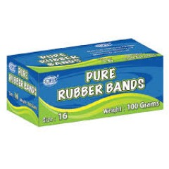 FIS FSRB100/16N Pure Rubber Band - Size 16, 100grams