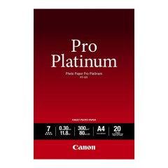 Canon PT-101 Pro Platinum Photo Paper - 300gsm, A4, 20 Sheets