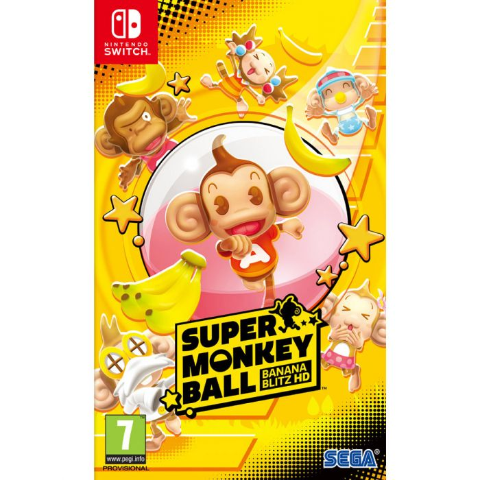 Super Monkey Ball: Banana Blitz HD Switch (PAL)