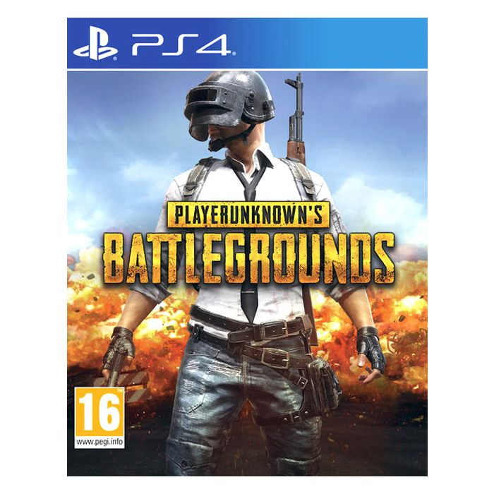 Player Unknown's Battlegrounds PS4
