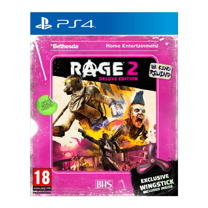 RAGE 2 Wingstick Edition PS4